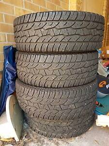 Off road tyres x 4. Good condition. Denistone Ryde Area Preview
