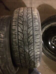 4 Low profile tire for 18 inch rims