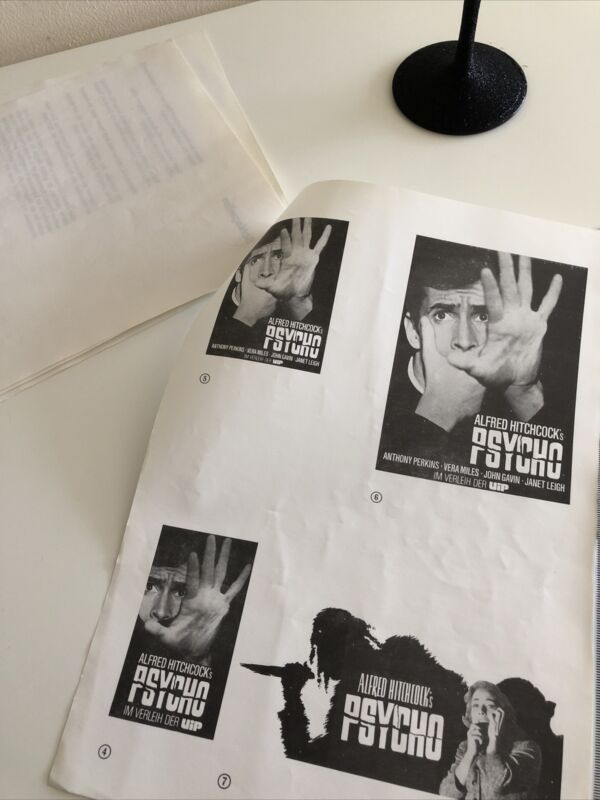 PSYCHO Film Movie Press CAMPAIGN Book Kit Alfred HITCHCOCK Anthony PERKINS
