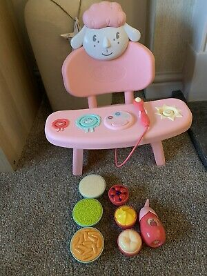 Baby Annabell Interactive Feeding Chair