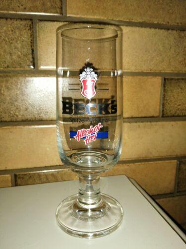 6 x Becks Gläser Alkoholfrei 0,2.         Kostenloser Versand