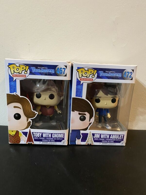 Funko Pop Television 467 Trollhunters 13694 Toby with Gnome