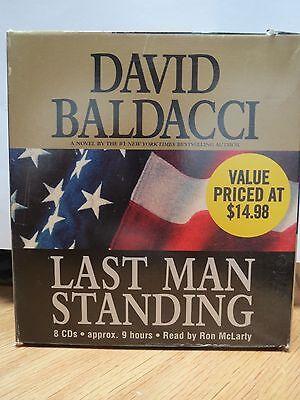 LAST MAN STANDING by David Baldacci (2005, CD, Abridged)