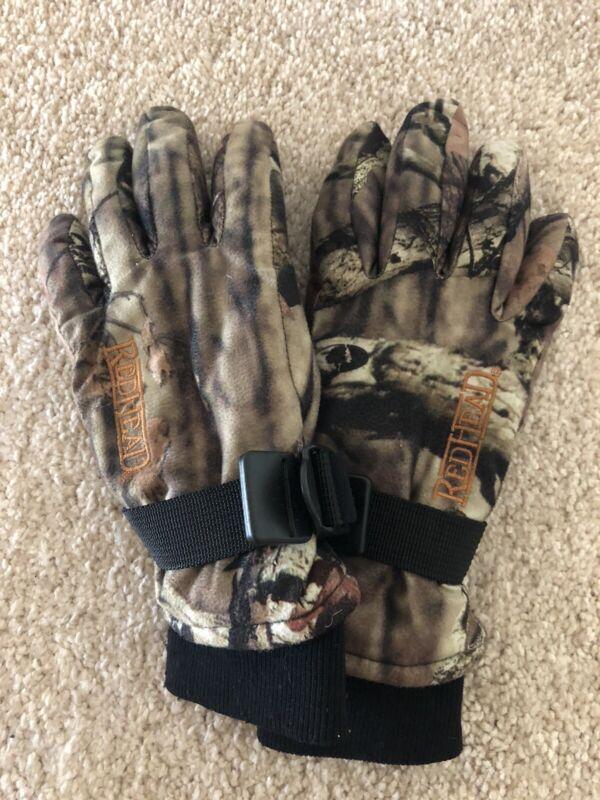 Redhead Camo Light Weight Hunting Gloves Size Medium
