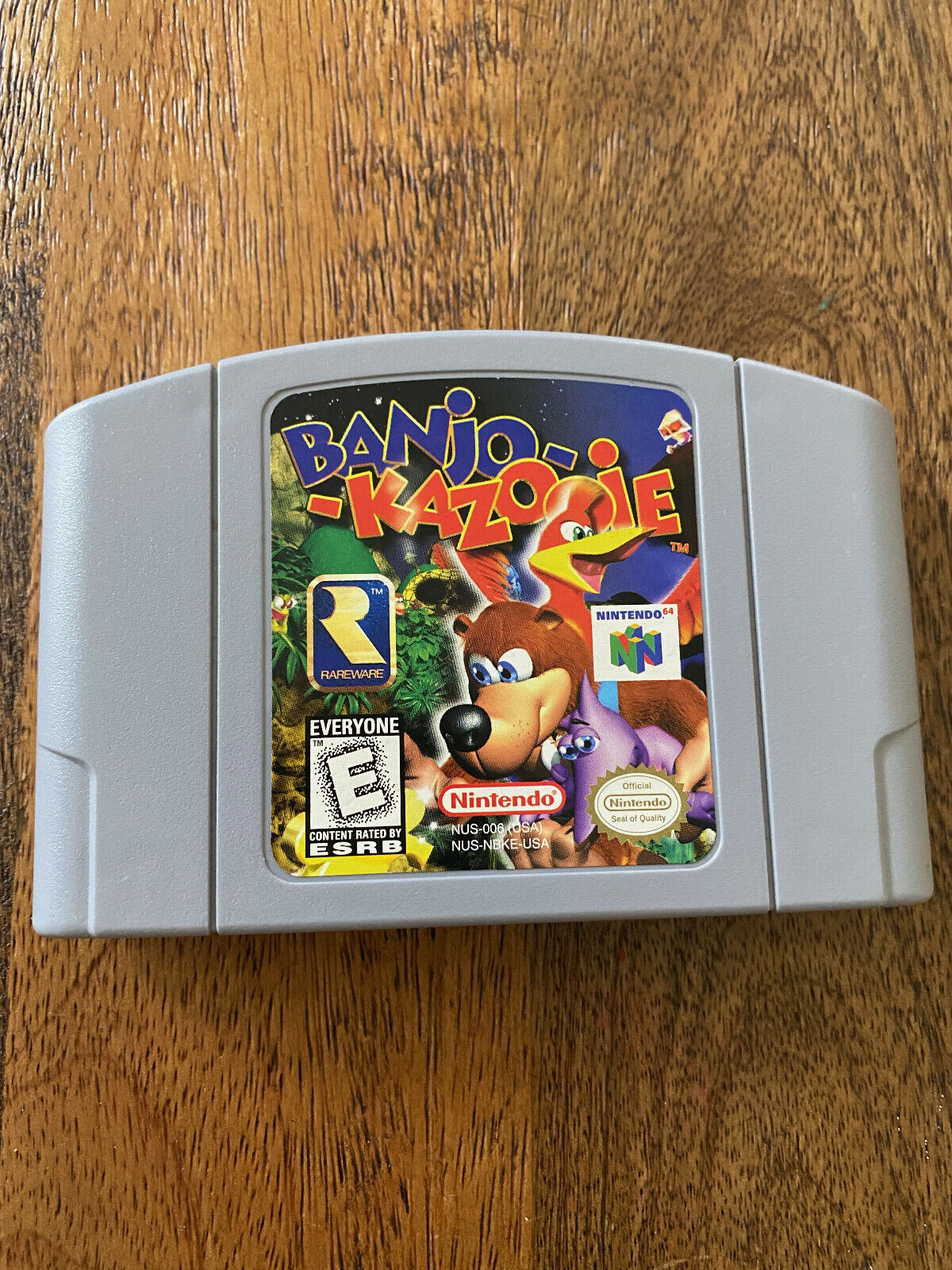 Banjo-Kazooie Nintendo 64 Genuine OEM Authentic - $44.79