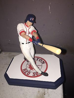 Andrew Benintendi Custom Mcfarlane Figure Red Sox Rookie white jersey