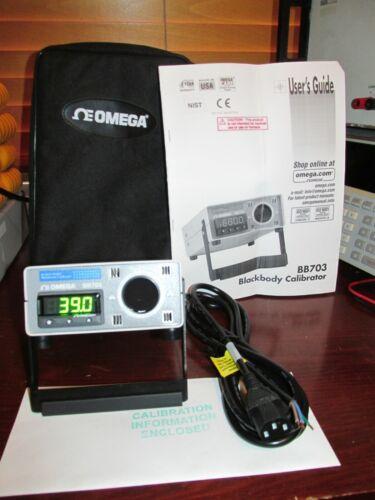 Omega BB703-230VAC Blackbody Calibrator **TESTED** ambient +10 C to 400 C