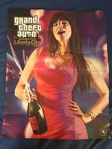 Grand Theft Auto: Episodes From Liberty City Poster (2 Sided)