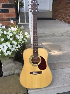 Acoustic guitar Cort Earth NS 70 Solid Spruce Top Rich Sound
