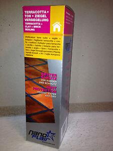 NANO FLAIR Terracotta Ton Ziegel Versiegelung - 500ml (Clay+Brick Sealing) - <span itemprop='availableAtOrFrom'>Zell am See, Österreich</span> - NANO FLAIR Terracotta Ton Ziegel Versiegelung - 500ml (Clay+Brick Sealing) - Zell am See, Österreich