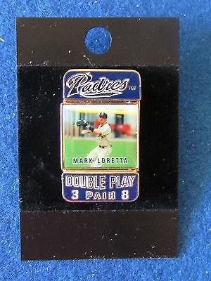 San Diego Padres Baseball Enamel Badge -Double Sided -Mark Loretta/Khalil Greene