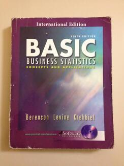 Basic Business Statistics 9th Ed by Berenson,Levine,Krehbiel $45 Claremont Nedlands Area Preview