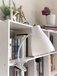 Small White Clip Lamp, Only $15 OBO!