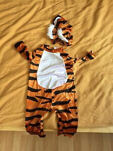 Halloween Tiger costume