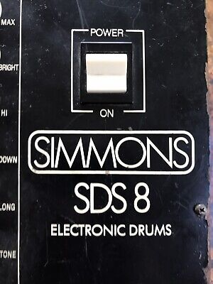 Simmons SDS 8 Electronic Drums System Vintage drum brain