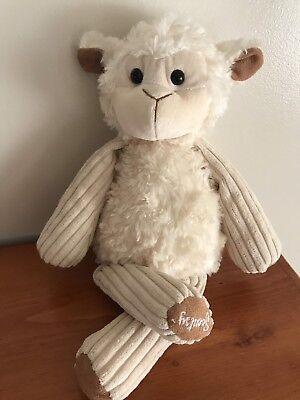 "Scentsy Buddy LENNY THE LAMB 15"" Plush  Stuffed Animal Newborn Nursery Scent Pak Animal Pak 15 Paks"