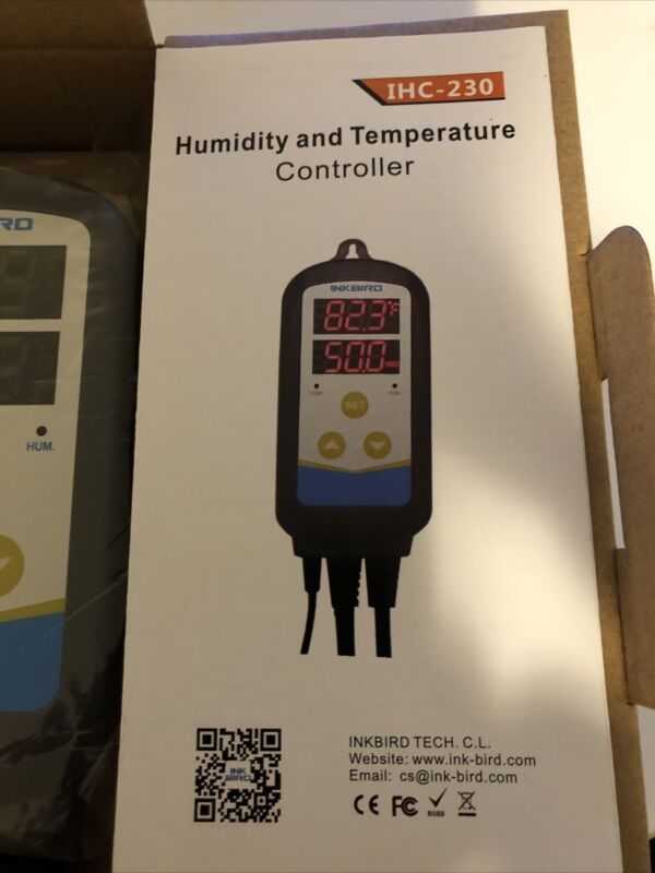 Inkbird Humidity And Temperature Controller IHC-230