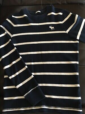 Abercrombie & Fitch Mens Muscle Fit Crewneck Large Sweater
