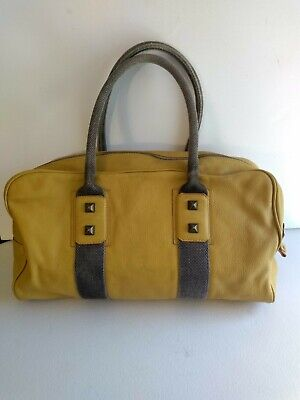 Falor Firenze Italy Purse Duffle Tote Leather handbag