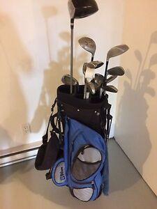 Set de golf pour couple droitié