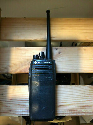 Motorola DP3400 UHF handportable two way radio / walkie talkie