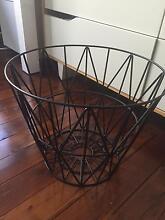 Ferm living black wire basket RRP$125 Roseville Ku-ring-gai Area Preview
