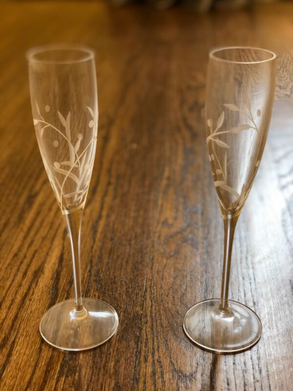 Lenox Opal Innocence Champagne Flute Crystal