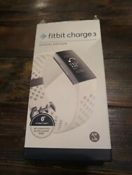Fitbit Charge 3 - Special Edition (White/Graphite) - open box