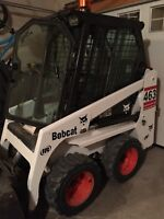 Bobcat Services /Snow Removal -Hauling