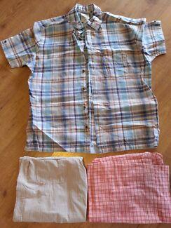Short Sleeve Shirts - Large Rosemeadow Campbelltown Area Preview