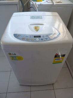 Lovely LG WF-T502A Topload Washing Machine 5.5kg Upper Mount Gravatt Brisbane South East Preview