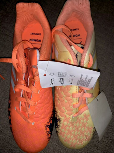 women comfort soccer shoes multicolor yellow orange