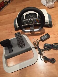 Xbox 360 steering and pedals