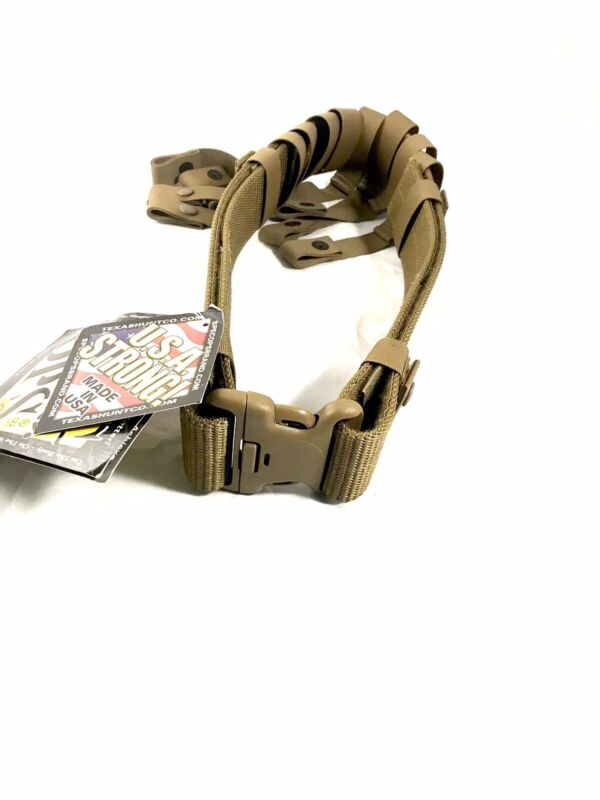 US Military WEB Belt Pistol Utility Duty Belt Spec Ops Tan New