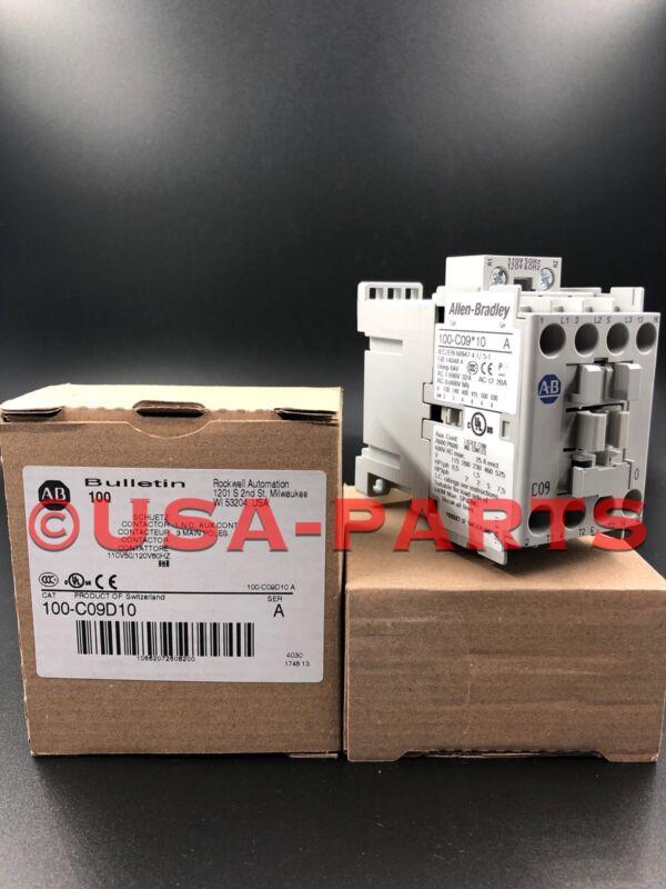 NEW ALLEN-BRADLEY IEC 100-C09D10  120VAC NEW IN BOX  (Ships Same Day)