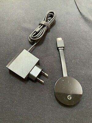 Google Chromecast Ultra 4K Streaming Device - EU Plug - Hardly Used