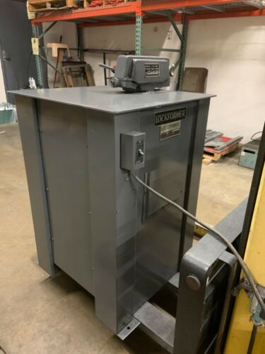 Used Lockformer 16 Gauge Stand Alone Power Flanger