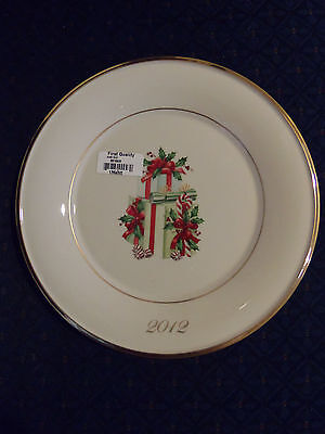 Free S H Lenox 2012 Annual Holiday Accent Collector Plate Firat Quality Nwt