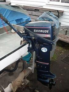 15 hp Evinrude auxiliary outboards long or short shaft Rosny Park Clarence Area Preview