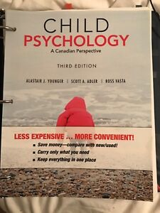 Child Psychology 3rd Canadian Ed by Younger