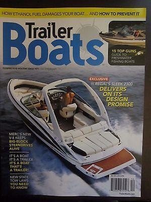 Trailer Boats Magazine December 2009 Regal's Sleek 2300 Freshwater Fishing D