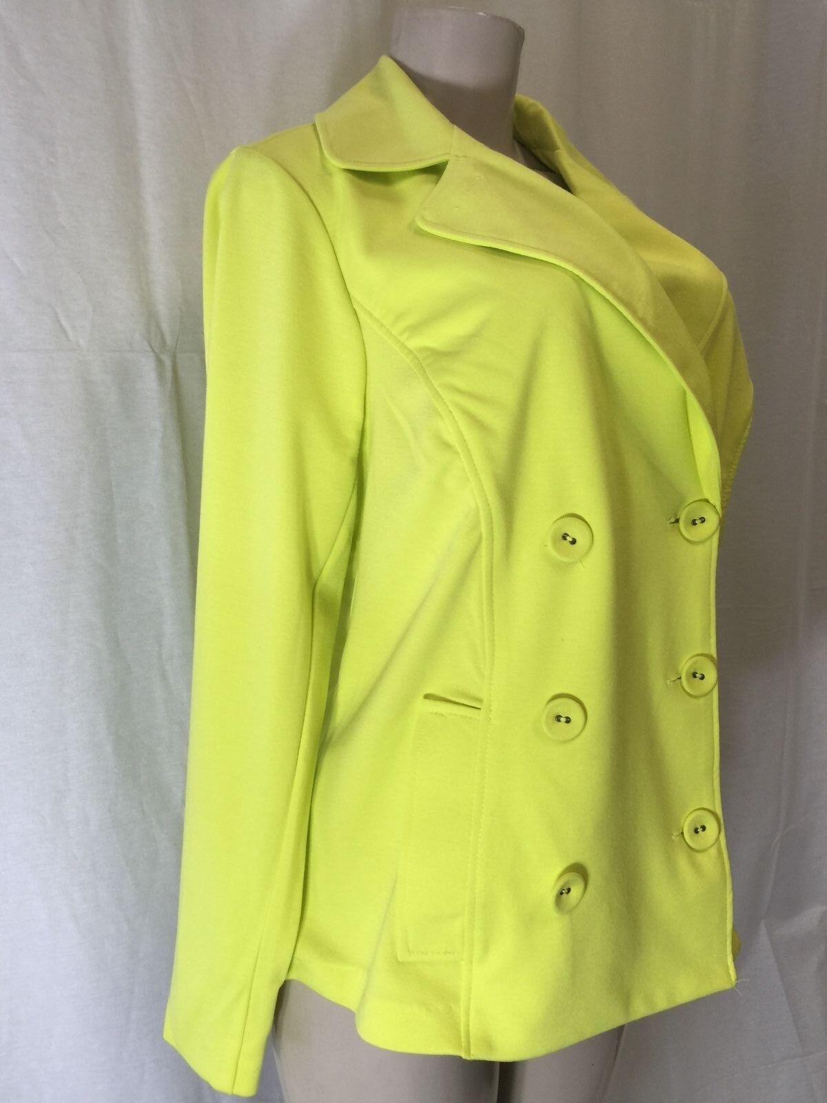 Lime green blazer plus size