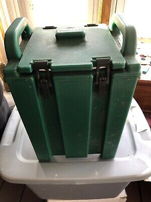 Cambro 250lcd Green 2.5 Gallon Insulated Beverage Dispenser Hot Or Cold Used