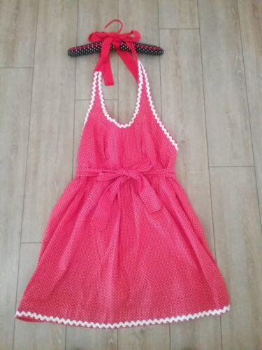 Vintage Apron Dress Full length