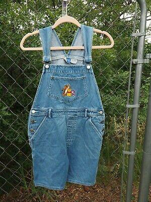 Vintage Overalls & Jumpsuits Medium Pooh Blue Denim Overalls Girls $29.99 AT vintagedancer.com