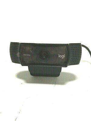 Logitech Pro Webcam C920 HD 1080p Widescreen Video Calling Recording Camera