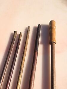 Vintage Wood Cleaning Rods