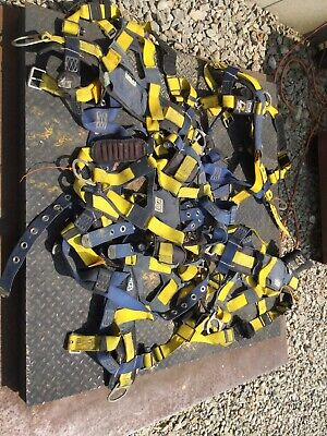 5 Dbi-sala 1101654 Delta Construction Style Positioning Harnesses Yellow
