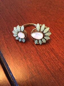 Mint Green Stella and Dot Ring