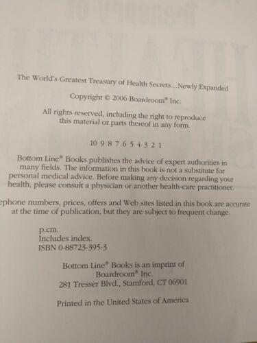 The Worlds Greatest Treasury Of Health Secrets Hardback - $5.00